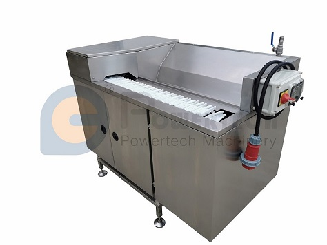 High Capacity Compact Crayfish Back Cut And Deveining Machine