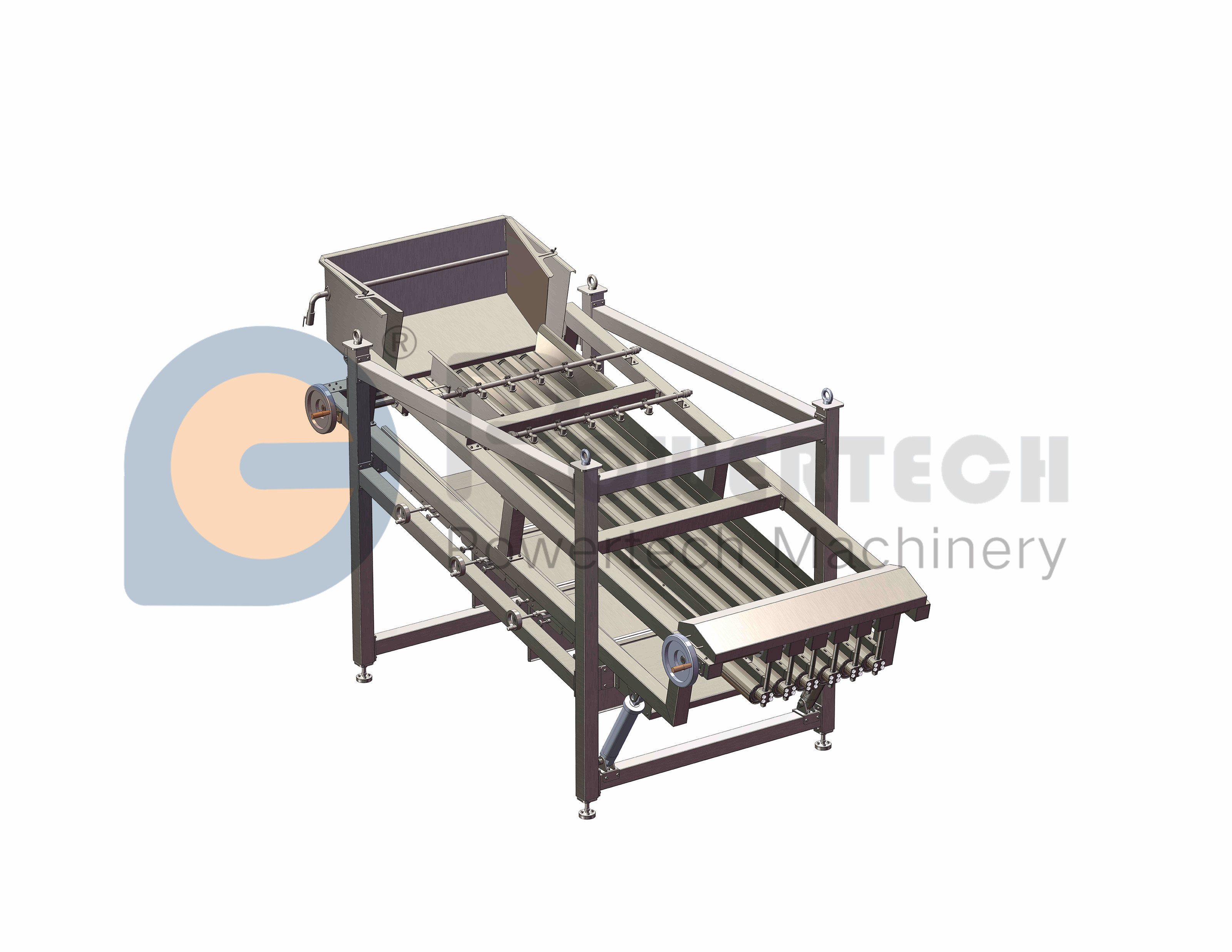 High Sorting Accuracy Automatic Fish Grading Machine